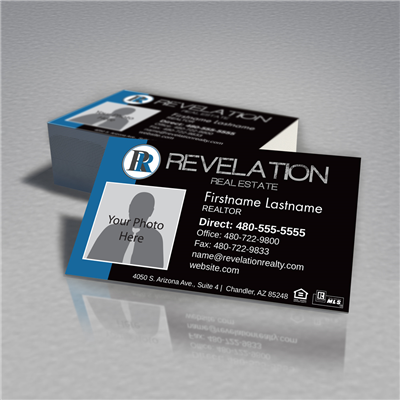 Revelation Realty Standard Business Card Photo